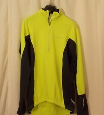 Polaris Long Sleeve Thermal Mid Layer Jersey - Mens - Small - Flu Yellow - 00829