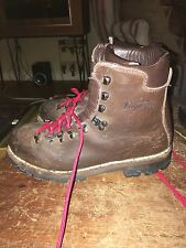 VASQUE VINTAGE MENS BOOTS SZ 10 M BROWN LEATHER HIKING Boots  ITALY