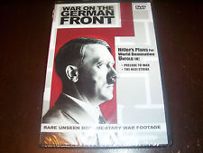 WAR ON THE GERMAN FRONT Rare Nazi Germany Documentaries WWII World War II DVD