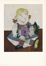 "1955 Vintage ""MAIA with SAILOR DOLL"" by PICASSO Color Plate offset Lithograph"