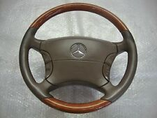 Mercedes W215 C215 CL Lenkrad Holz Holzlenkrad KOMPLETT ab Bj. 1999