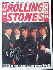 CHARLIE WATTS Signed 16x12 Poster THE ROLLING STONES COA