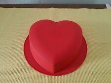 Tupperware Silkon Backform Herzform
