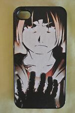 Apple iPhone 4 & 4S Anime leather Phone case Cover Cool Full Metal Alchemist