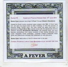 (GC796) Button Eyes, A Fever - 2014 DJ CD