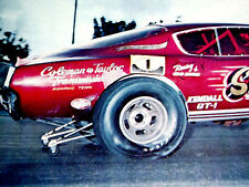 1968 PLYMOUTH BARRACUDA FUNNY CAR-LARRY REYES/SUPER CUDA-383/440/426 HEMI V81969