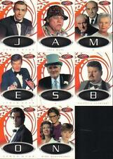 JAMES BOND 40TH ANNIVERSARY SET OF 8 LETTERS CARDS
