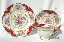 "Royal Albert Canterbury Cup Saucer And 7"" Dessert Plate 1935"