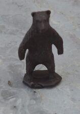 Figurine des années 1970, collection La Roche aux Fées, l'ours