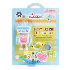 New Lottie Baby Doll 3+ Girl Accessories Busy Lizzie the Robot