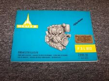 Deutz F3L812 Engine Factory Original Spare Parts Catalog Manual Book