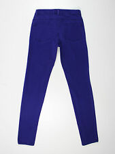 Haut femme H&M taille 8 29L jambe courte Skinny Jeans Violet