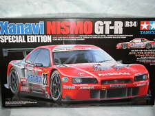 Tamiya Xanavi Nismo GT-R R34 Model Kit 24271-Not include Metal n Photo-etch Part