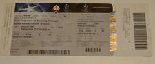 old ticket CL AC Fiorentina Italy Sporting Lisboa Portugal