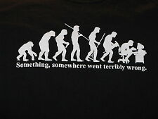 """Office Worker Evolution that Went Wrong"" T-Shirt (L)"