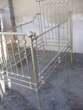 CULLA-LETTINO DA BIMBO IN ALPACCA ORIGINALE FINE '800 SICILIA - BUONO STATO