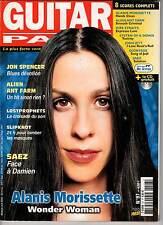 """GUITAR PART #97 """"A.Morissette,Jon Spencer,Slipknot,Saez,Lostprophets"""" (REVUE)"""