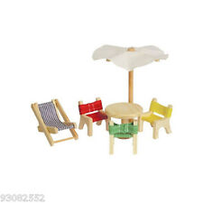 Wooden Dolls Outside Furniture ~ pretend play