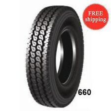(8-Tires) 285/75R24.5 H/16PR 149/146L-  New Deep Drive Truck Tire 28575245(#660)