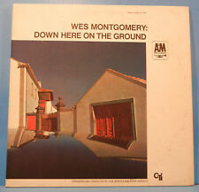 WES MONTGOMERY DOWN HERE ON THE GROUND  LP 1968 ORIGINAL RVG NICE COND! VG/VG!!C