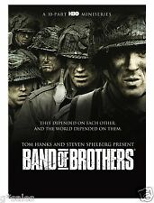 Band of Brothers ~ COMPLETE 10-PART HBO MINI SERIES ~ BRAND NEW 6-DISC DVD SET