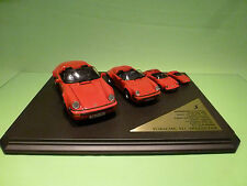 MAISTO 4x PORSCHE 911 SPEEDSTER 1989 - 1:18 1:24 1:36 1:60 - GOOD CONDITION