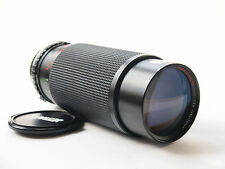 Sunagor 80-305mm F5.6 Zoom Lens with Olympus OM Film Mount. Stock No. U6848