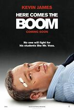 Here Comes the Boom Original D/S Advance Rolled Movie Poster 27x40 NEW 2012