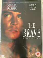 Johnny Depp Marlon Brando THE BRAVE ~ 1997 Culto Drama ~ GB DVD