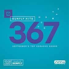 Sunfly KARAOKE HITS 367 formato CD-R / CDG Settembre 2016