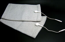Conductive Massage Kneepads Size Free With Short Lead Wires For TENS/EMS Machine