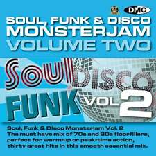 DMC Soul Funk Disco Monsterjam 2 Grandmaster Style Continuous Megamix Mix DJ CD