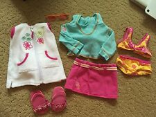 American Girl Beach Fun Wardrobe- RETIRED