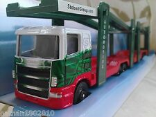SCANIA EDDIE STOBART DIECAST MODEL CAR TRANSPORTER TRUCK LORRY CORGI 1:64 NEW
