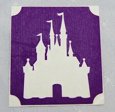GT90 Body Art Temporary Glitter Tattoo Stencil Disney Castle Cinders