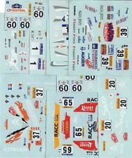 LOT DECALS 1/43 CITROËN SAXO S1600 - COLORADO  DCV018