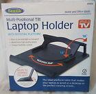 Laptop Notebook Cooling Holder Swivel 360° Riser Platform Adjustable Stand Base