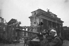 7x5 Gloss Photo ww3CB6 World War 2 Germany Berlin Brand 10