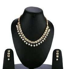 FTK11, Ethnic Indian Fashion Bollywood Gold Plated Necklace