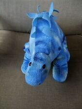 "Sound & Lights Brand DINOSAUR-Blue Colors  Plush 16"" Long"