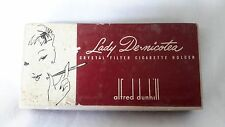 Vintage 1930's Alfred Dunhill Lady Denicotea Luxury Cigarette holder w box AS-IS