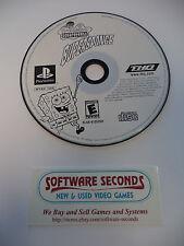 Spongebob Supersponge (Sony Playstation 1 2 3, 2001) RESURFACED Game Only