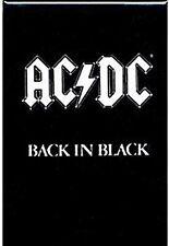 Kühlschrankmagnet Aus Stahl AC/DC Back In Black (cv)