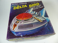 Tien Hsing Toy Taiwan - Delta Bird Spaceship  in Box - Space Toy vintage