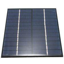PANNELLO SOLARE 2W 12V solar panel FOTOVOLTAICO camper, baita, barca, giardino