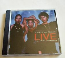 The Pointer Sisters Live (CD, Apr-2008, TGG Direct)