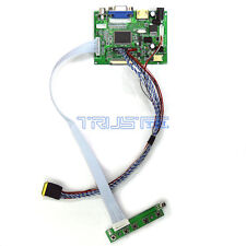 HDMI+VGA+AV LCD Controller Board Kit For AUO 14″ LED Panel B140RTN02.2 1600x900
