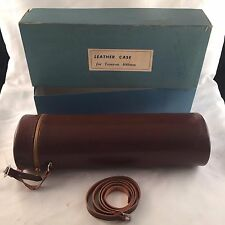 LEATHER CASE FOR TAMRON 400MM ZOOM LENS-IN ORIGINAL BOX