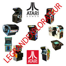 Ultimate ATARI Arcade Repair Service & Owner Manuals  (550 PDFs manual s on DVD)