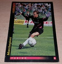 CARD GOLD 1993 TORINO MARCHEGIANI CALCIO FOOTBALL SOCCER ALBUM